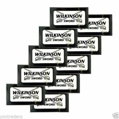 50 Wilkinson Sword Classic Mens Double Edge Razor Blades