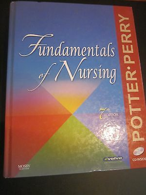 FUNDAMENTALS OF NURSING by Patricia A. Potter & Anne Griffin Perry(2009,HC)