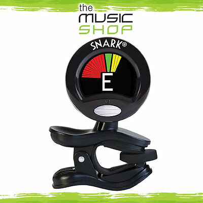New Snark SN5 Chromatic Clip On Guitar, Bass, Violin, Ukulele Tuner - SN-5 Black