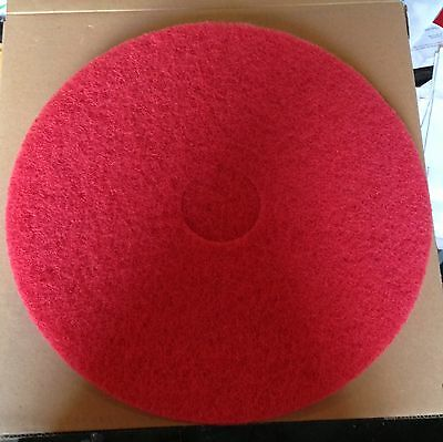 "Glit Microtron Red 17"" Floor Buffing Polishing Pad"