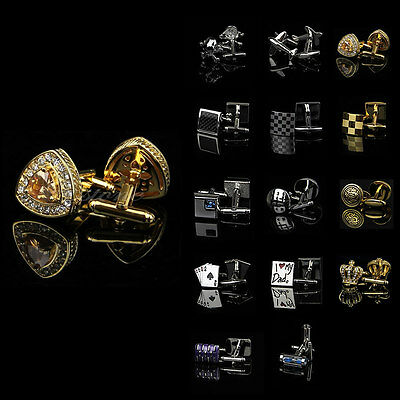 Lot 1 Pair Vintage Stainless Steel Round Wedding Gift Mens Cuff Links