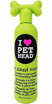 Pet Head De Shed Me Shampoo Dog Deshedding Shampoo 354ml