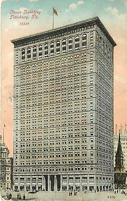 PA-PITTSBURGH-OLIVER BUILDING-MAILED 1910-H14723