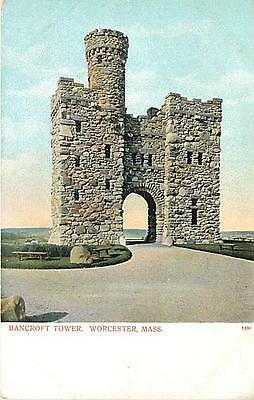 MA-WORCESTER-BANCROFT TOWER-EARLY-H14789