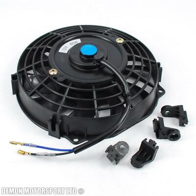 """7"""" 7 Inch 12 Volt Electric Cooling Fan Push Pull For Radiator Intercooler"""