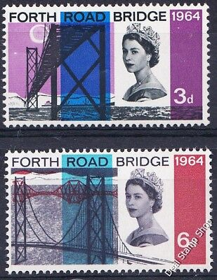 GB 1964 Opening of Forth Bridge Complete Set SG659 - SG660 Unmounted Mint