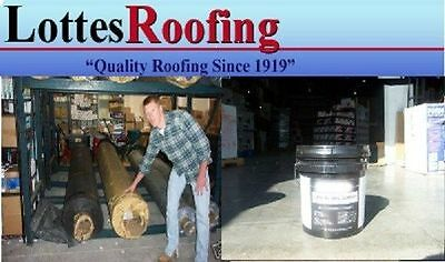 10' x 35' BLACK 60 MIL EPDM RUBBER ROOF W/ADHESIVE BY THE LOTTES COMPANIES