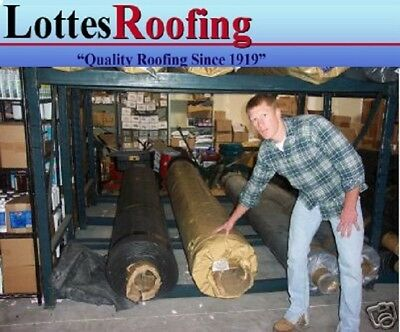 10' x 55' BLACK EPDM 45 mil RUBBER  ROOF ROOFING BY LOTTES COMPANIES