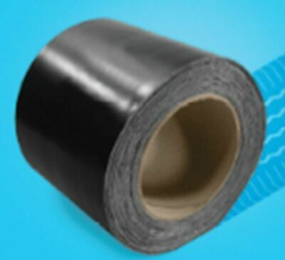 "1 case - 4 rolls 3"" x 100' EPDM Rubber Roofing seam tape BY THE LOTTES COMPANIES"