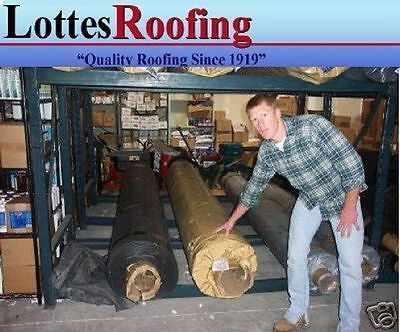 30' x 40' BLACK EPDM RUBBER ROOFING BY LOTTES COMPANIES