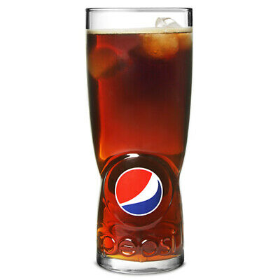 Pepsi Hiball Glasses CE 20oz - Set of 4 | Official Branded Pepsi Tumblers