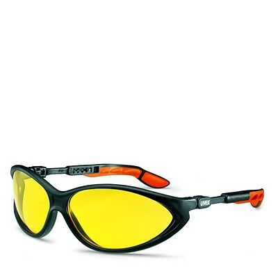 UVEX CYBRIC - 9188-020 Safety Glasses / Spectacles - YELLOW AMBER LENS