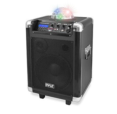 "Pyle Disco Jam Bluetooth 10"" PA Speaker System, Built-in Rechargeable Battery"