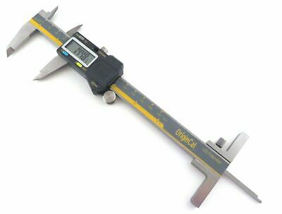 "iGaging Absolute 6""/150 mm Digital Calipers IP54 Stainless Steel w/ Depth Gauge"
