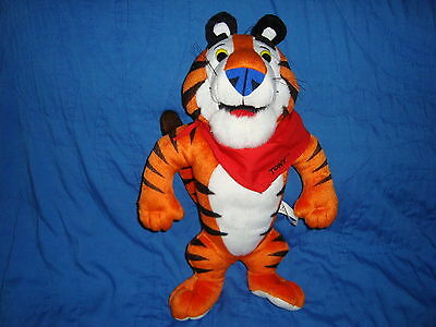 "Kellogg's Tony The Tiger Plush 1993 bendable tail and arms 13"" tall"