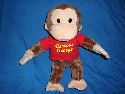 "Curious George Plush Monkey 11"" tall"