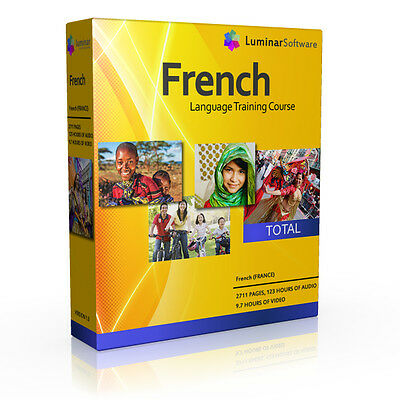 Learn To Speak European French Language Training Course Pc Dvd New