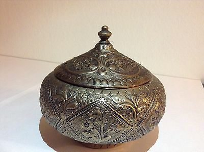 Very Old Antique Sugar Bowl Authentic Handmade Genuine