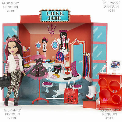 Bratz Boutique Love Jade & Co Incls Doll, Clothes, Accessories, Beeping Till