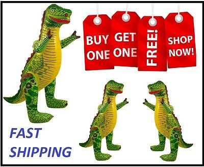 0Inflatable Dinosaur Animals Inflate Blow Up Novelty Party Toy Special Offer