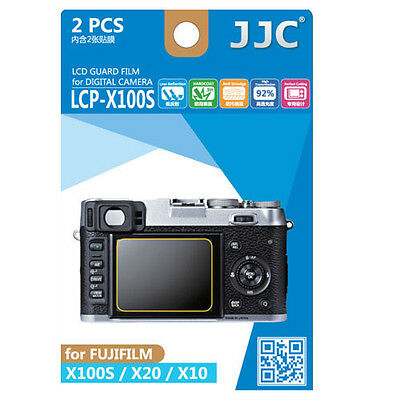 JJC LCP-X100S LCD Guard Film Camera Screen Protector for FUJIFILM X100S X20 X10
