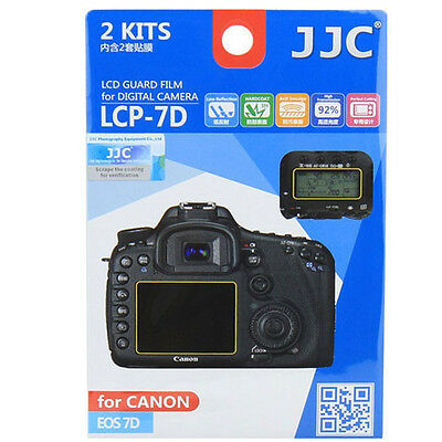 JJC LCP-7D ultra hard polycarbonate LCD Guard Film Screen Protector For Canon 7D