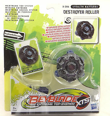 Beyblade Extreme Top System XTS Stealth Battlers Destroyer Roller X-206