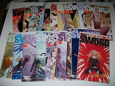 The Sword #1-24 VF/NM complete run set Luna Brothers Image