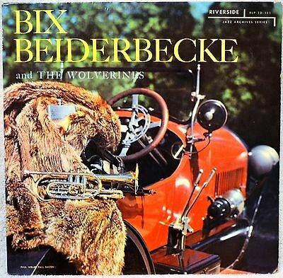 Bix Beiderbecke and & the Wolverines Riverside Jazz DG 1st Press VG++ LP Vinyl