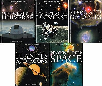 Exploring the Universe Series. 5 Titles!; Giles Sparrow. HC Like New!