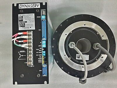 Yokogawa Dd Servo Actuator Sd1200A02 Motor Dm1200A00 & Cable Set