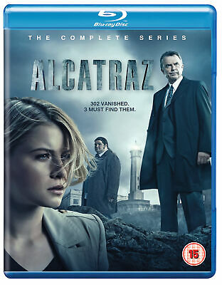 Alcatraz - The Complete Series [2012] [Region Free] (Blu-ray)