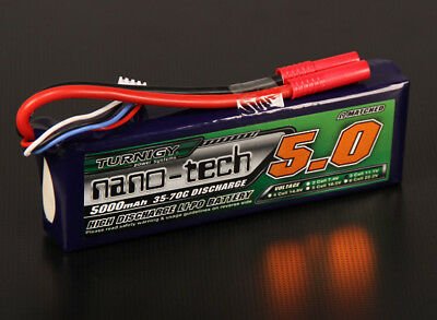 RC Turnigy nano-tech 5000mah 3S 35~70C Lipo Pack