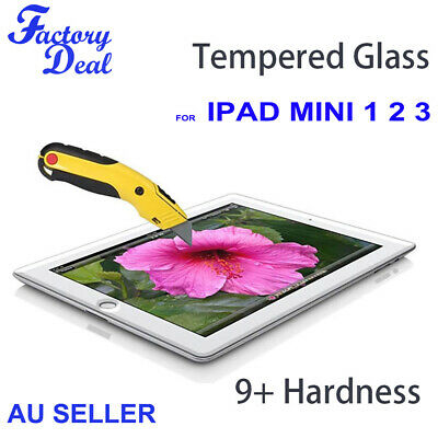 Tempered Glass Screen Protector Cover Guard For Apple iPad mini 1 2 3
