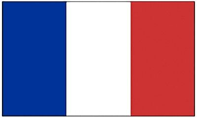 Large 3' x 5' High Quality 100% Polyester France Flag - Free Shipping