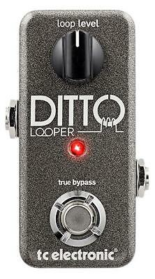 TC Electronic Ditto Looper Guitar Effects Pedal 5 minutes of Looping BNIB