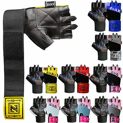 Weight Lifting Gloves Padded Gym Exercise Body Building Training Ladies & Mens