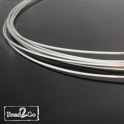 Sterling Silver Wire 18ga Round Half Hard Various Lengths- 92.5% Pure Wholesale