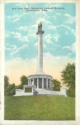 TN-CHATTANOOGA-LOOKOUT MOUNTAIN-NEW YORK STATE MONUMENT-H17065