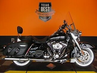 Harley-Davidson : Touring 2013 Used FLHRC Road King Classic Loaded in Vivid Black with Cruise & ABS Brakes