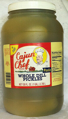 Cajun Chef Whole Dill Pickles 1gal Jar
