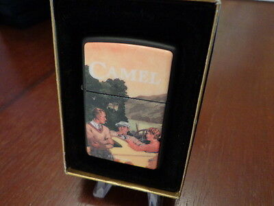 Camel Technographic Chip Zippo Lighter Mint 1995