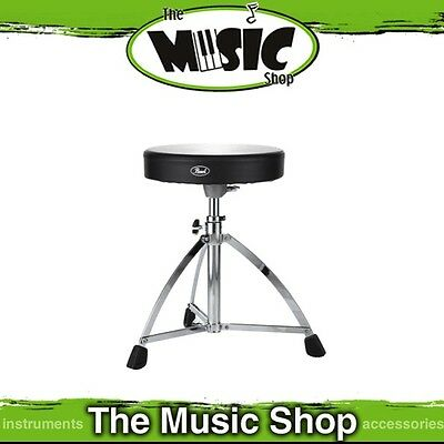 New Pearl D-730S Height Adjustable Short Drum Throne - D730S Drum Stool
