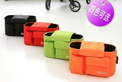 Pram/Pushchair/Stroller/Bottle/Drinks/Food Holder Storage/ diaper car seat bag