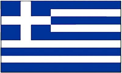 Large 3' x 5' High Quality 100% Polyester Greece Flag - Free Shipping
