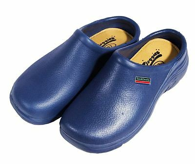Town & Country EVA Garden Cloggies Lightweight Navy Shoes - All sizes 3 - 12