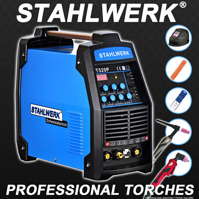 Welding all in 1 set: Welder CT 520 PULSE and PLASMA S -DC TIG Inverter with MMA
