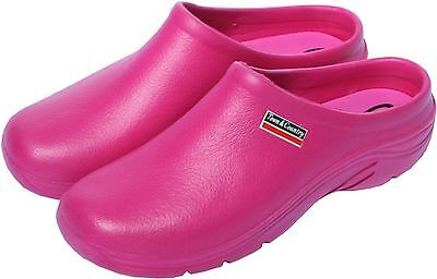 Town & Country EVA Garden Cloggies Lightweight Raspberry Shoes - All sizes 4 - 8