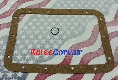 1960-69 Corvair thick cork  powerglide oil pan gasket with freebie! That's right