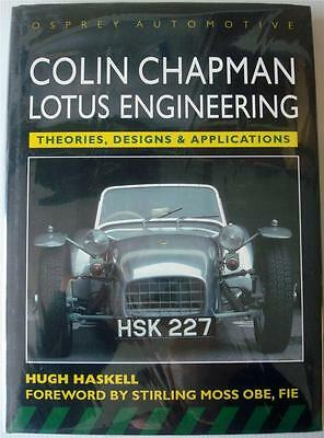 Colin Chapman Lotus Engineering Theories Designs Applications Haskell Car Book